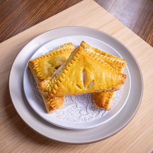 Chickpea curry puff (vegan)