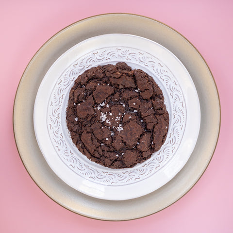 12x Chocolate brownie cookies (vegan)