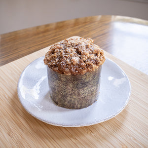 Coffee cake muffin (gluten-free)