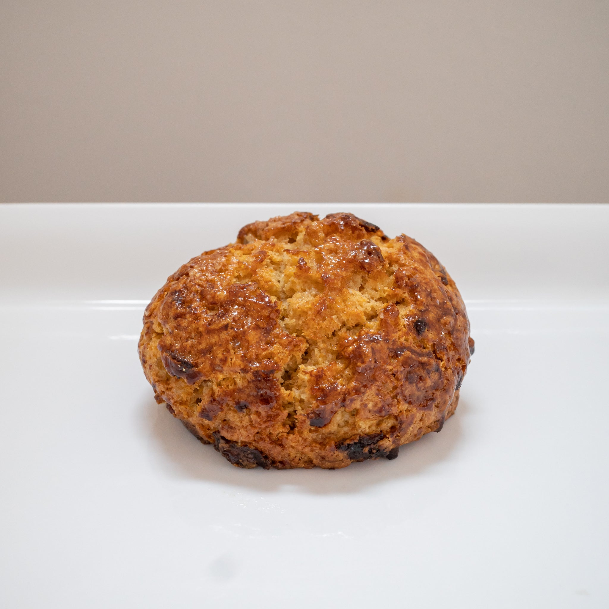 Ginger apricot scone