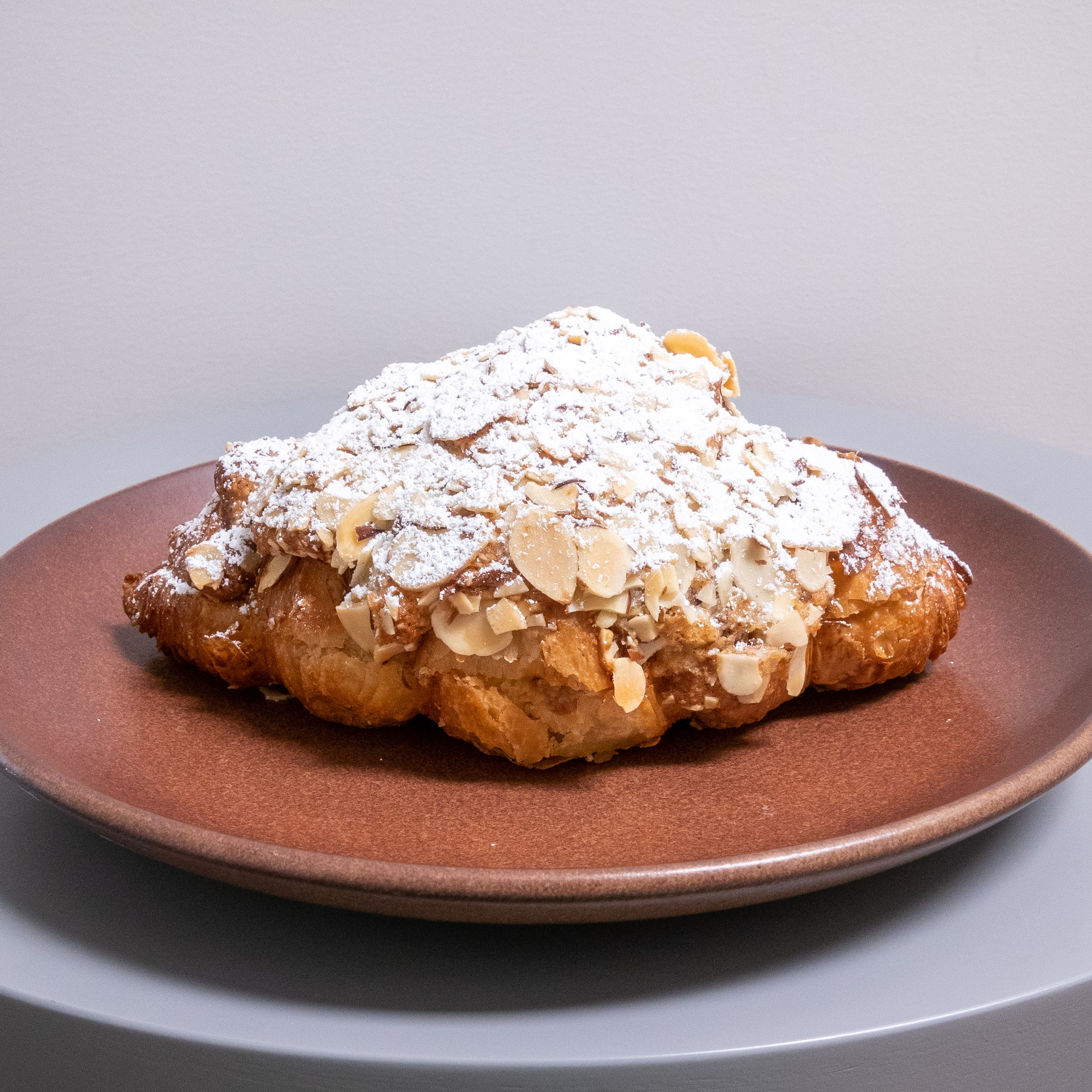 Strawberry almond croissant