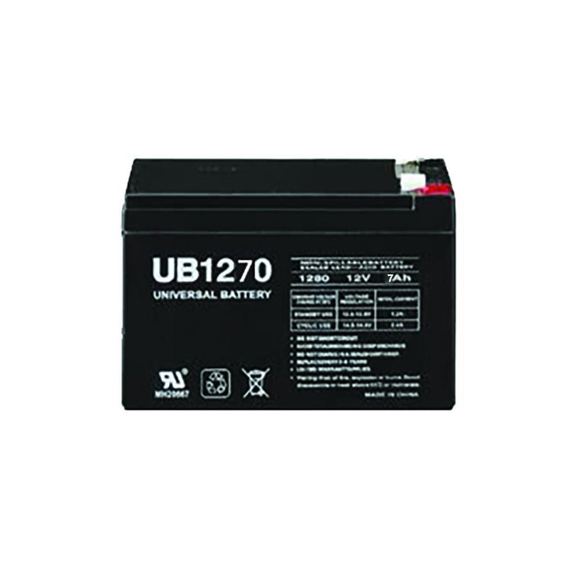 12 volt 7amp Battery
