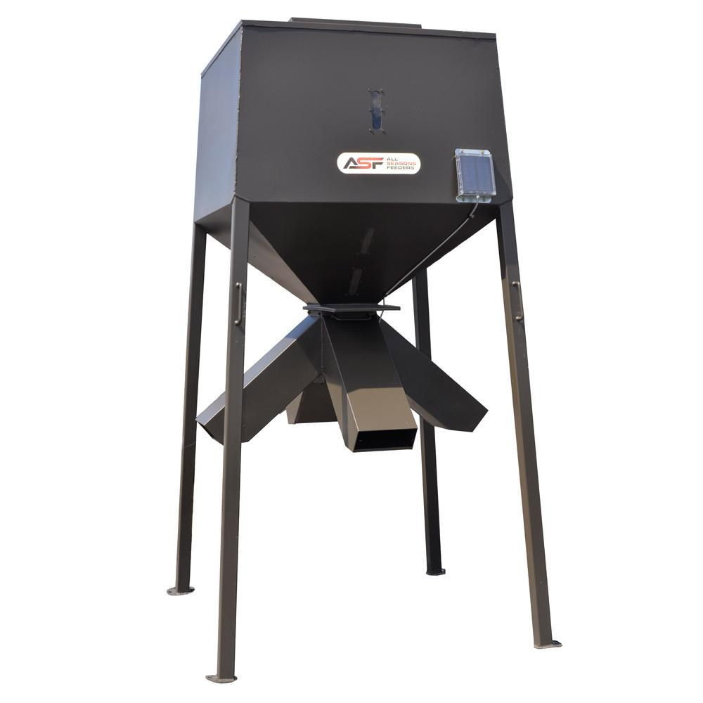 deer feeders and products all fill seasons feeder stand protein electric