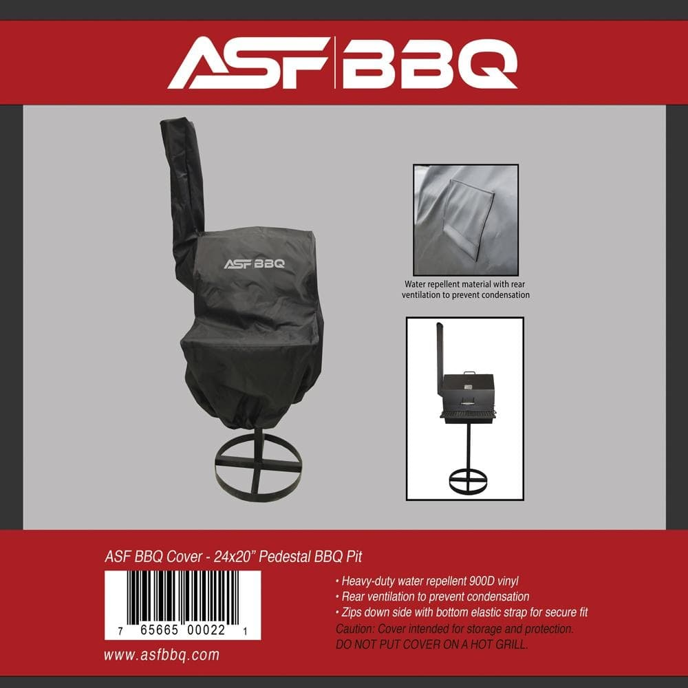 Cover - 24 x 20 Pedestal BBQ Pit