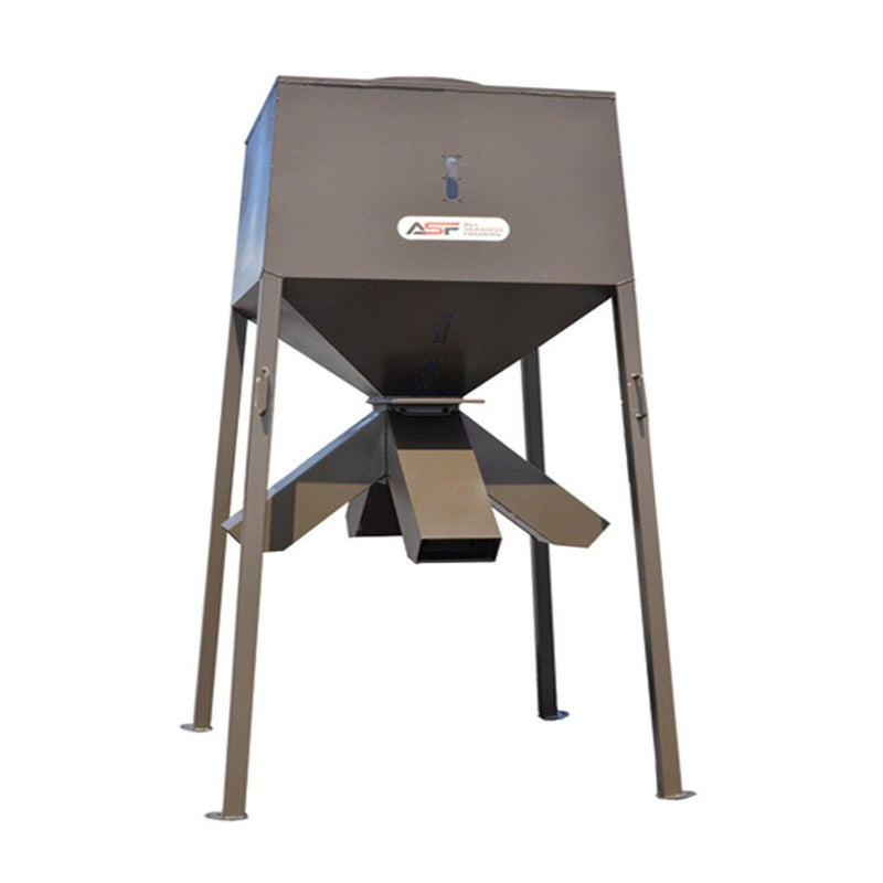 all seasons feeders, protein feeder, deer feeder, asf deer feeder,