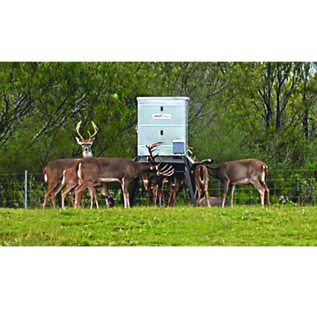 timed trough deer capacity lb feeder dd min feeders products protein lamco img ranch rain sensor farm