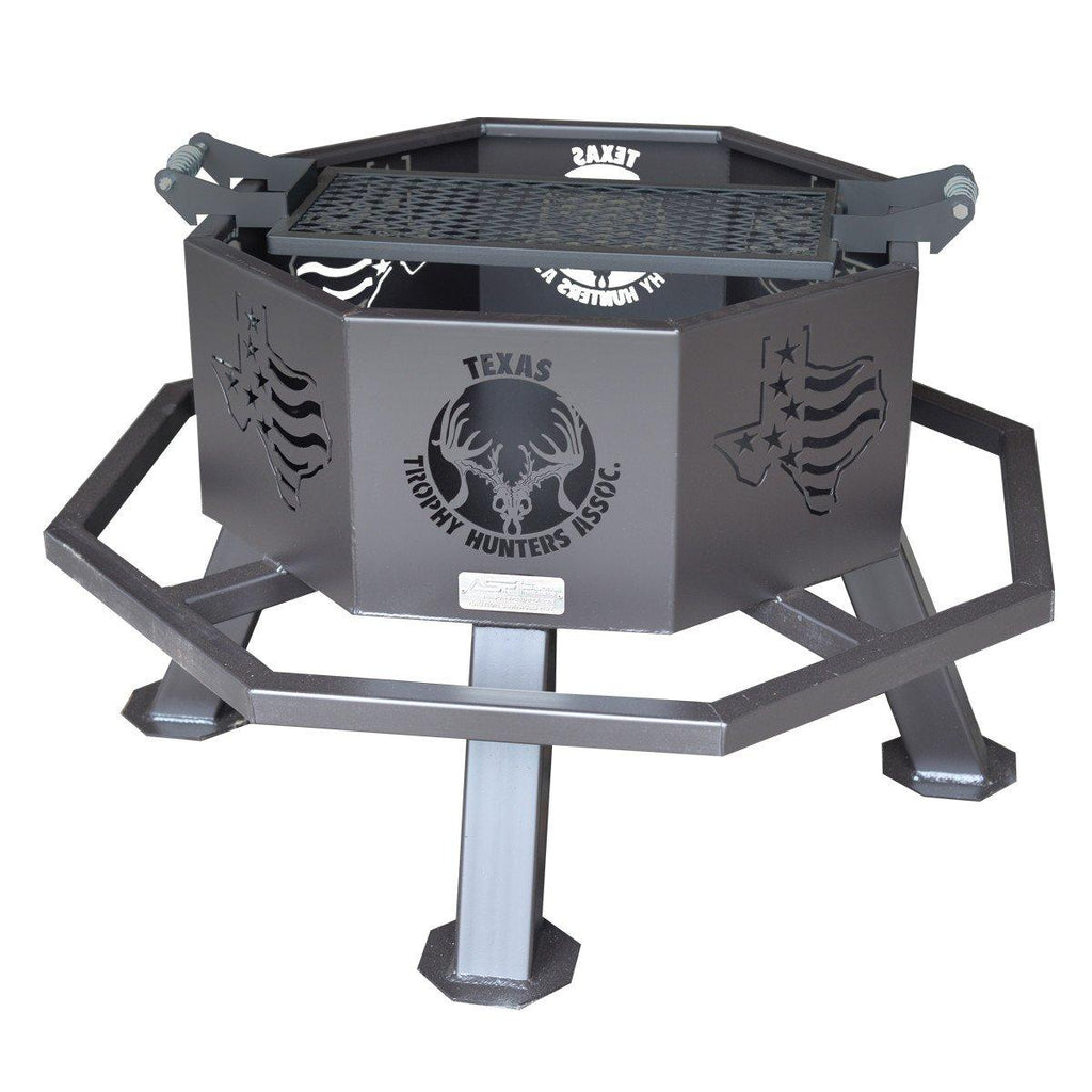 "28"" Texas Trophy Hunters® Fire Pit"