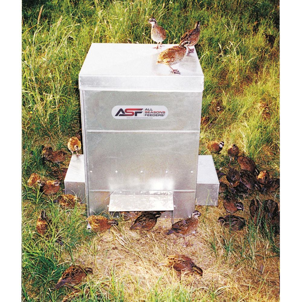 All Seasons Feeders quail feeder