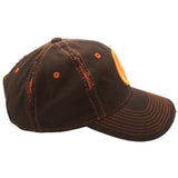 borderlands vault logo hat orange side view