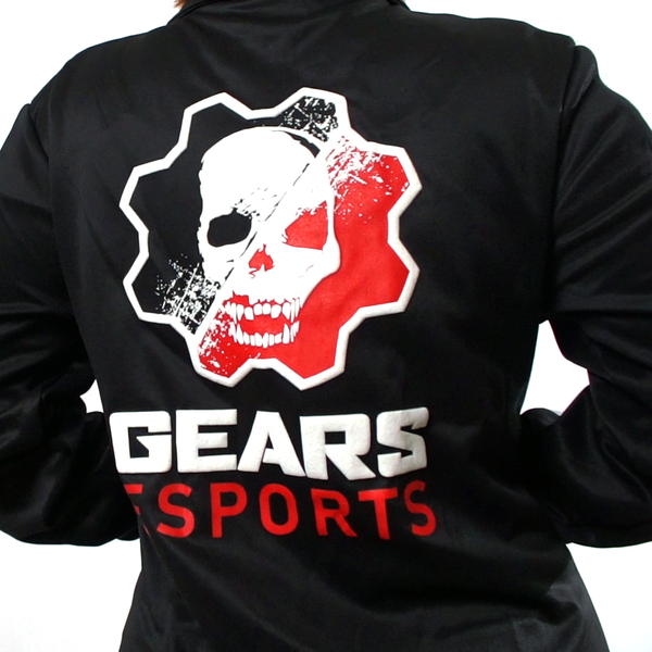 Gears Esports Logo Jacket Back View