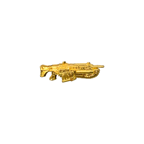 gears of war gold lancer pin