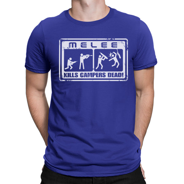 melee shirt blue