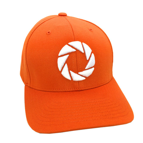 Aperture laboratories orange portal hat