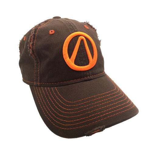 borderlands vault logo hat orange