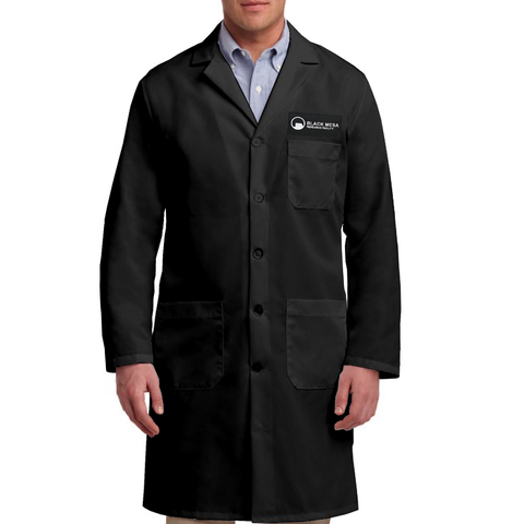 black mesa work lab coat