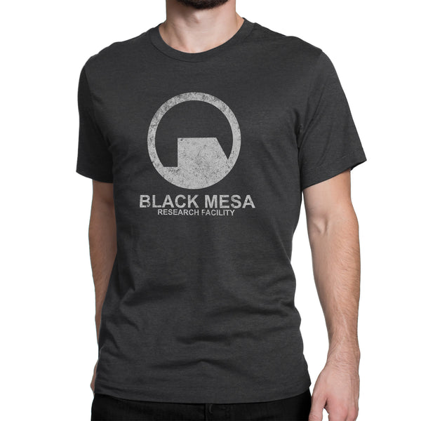 Black mesa research facility t-shirt black