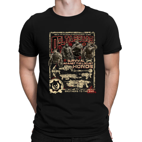 gears of war delta squad shirt