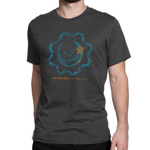 gears of war san diego event t-shirt