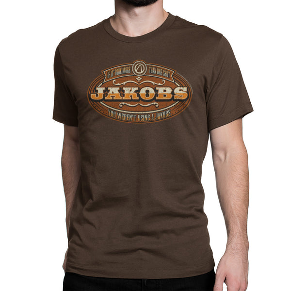 jakobs borderlands t-shirt brown