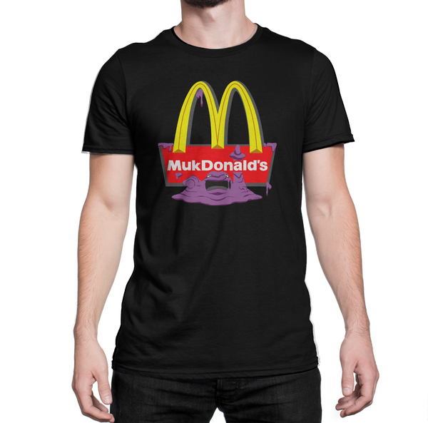 McDonalds shirt with Muk Pokemon MukDonalds