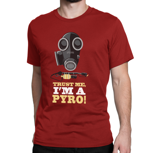 tf2 red team pyro shirt team fortress2