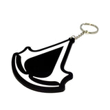 assassin's creed logo keychain
