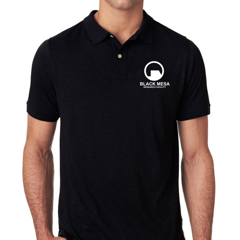 black mesa work polo