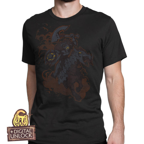 dota 2 chaos knight t-shirt with digital unlock