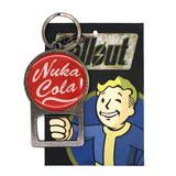 nuka cola bottle opener with backer card