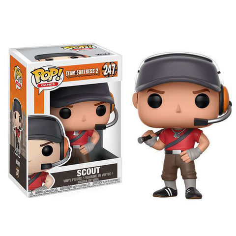 team fortress pop vinyl scout tf2