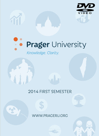 Prager University - 2014 First Semester (DVD)