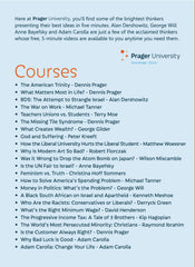 Prager U - 2014 Second Semester (DVD)