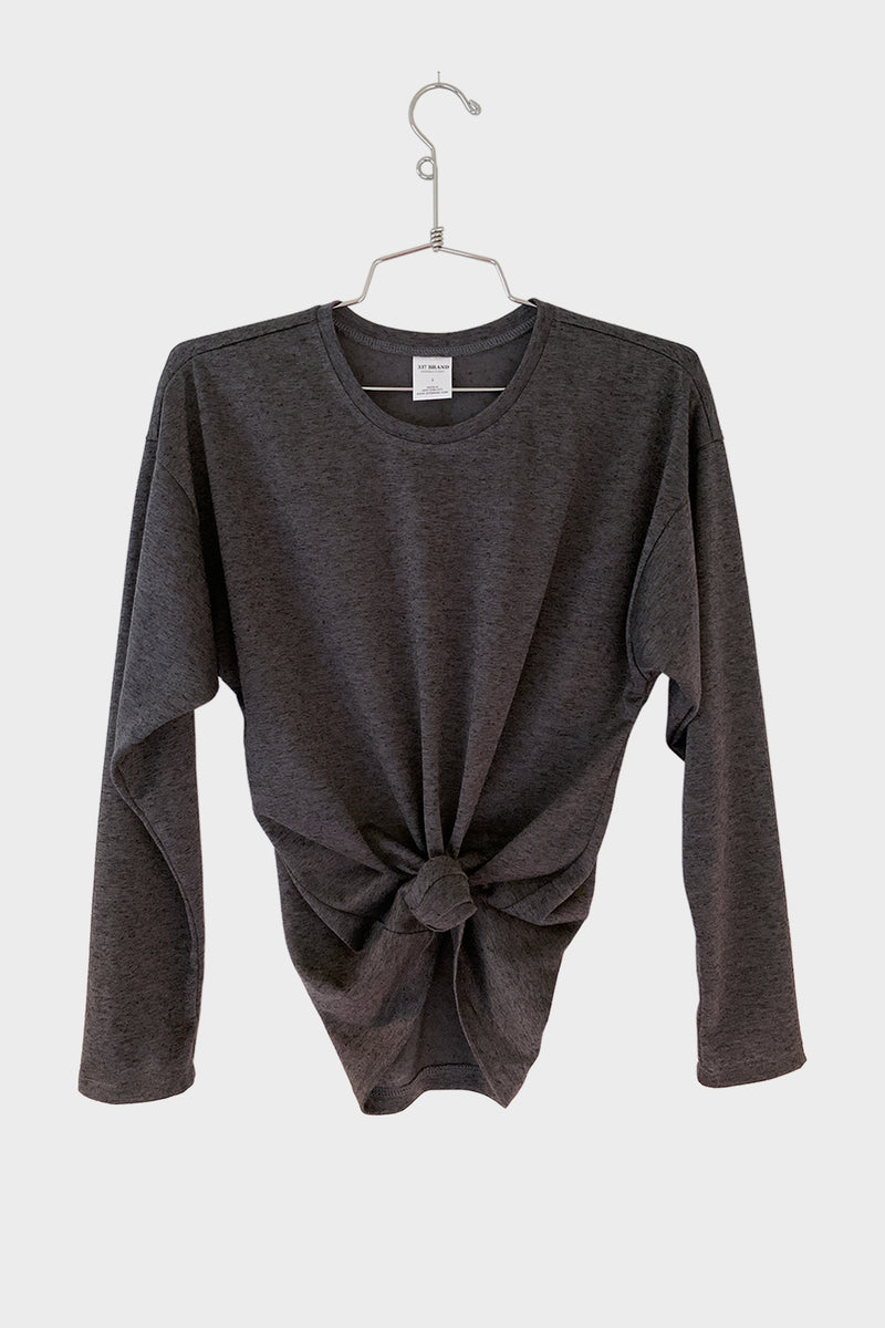 Classic Long Sleeve Tee - 337 BRAND Women's Eco-Friendly Loungewear