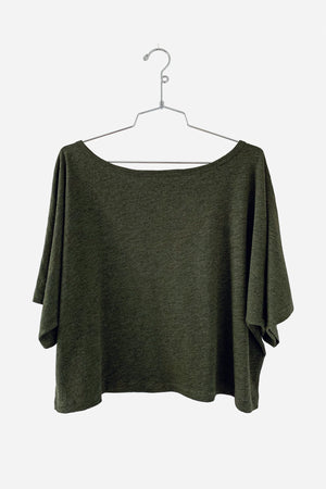 MARIAM CROP TOP - 337 BRAND Women's Sustainable Clothing