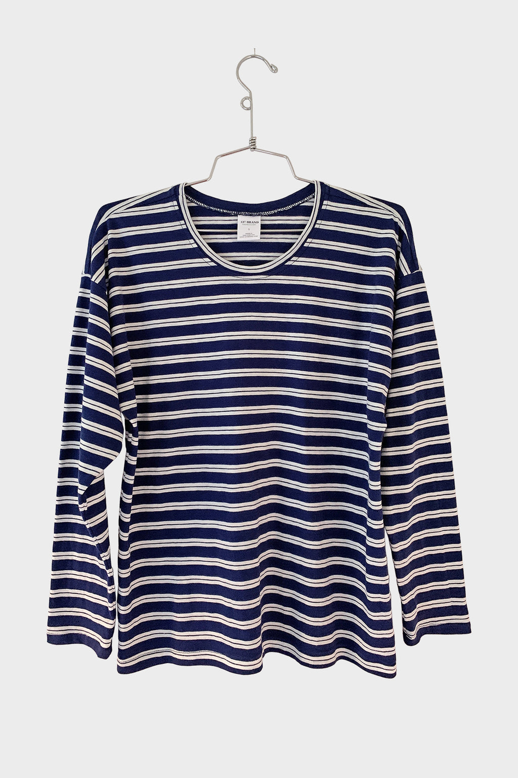 Striped Long Sleeve Tee - 337 BRAND Women's Sustainable Loungewear