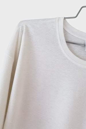 Pique Long Sleeve Tee - 337 BRAND Women's Eco-Friendly Loungewear