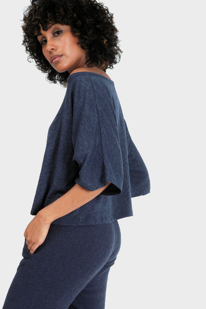 337 BRAND Women's Sustainable Basic Lumi Crop Top