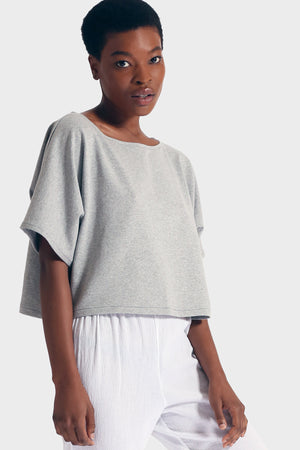 337 BRAND Women's Sustainable Basic Melia Crop Top