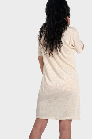 337 BRAND Women's Sustainable Basic Mika T-Shirt Dress