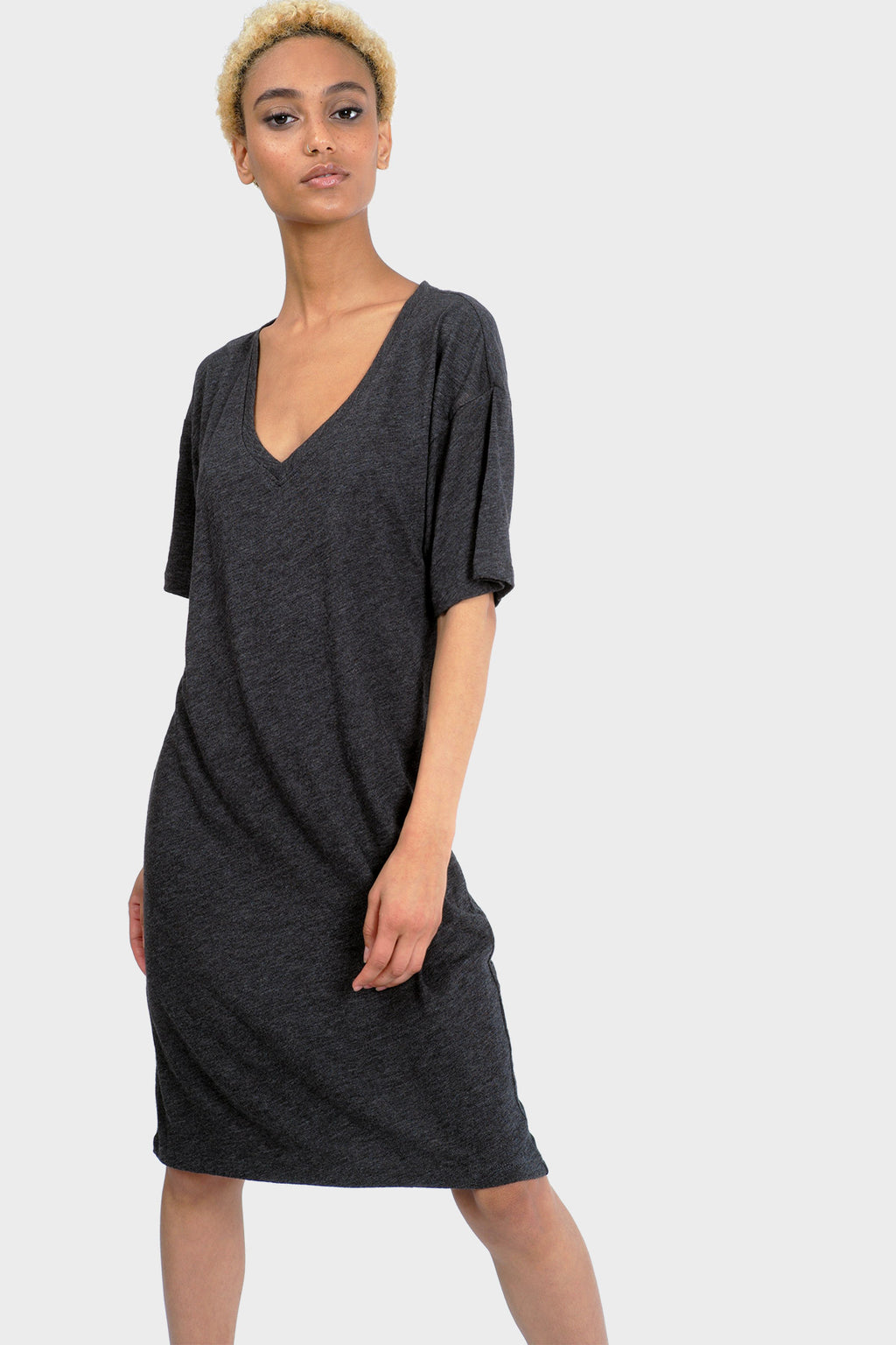 MIKA T-SHIRT DRESS - 337 BRAND Women's Sustainable Clothing