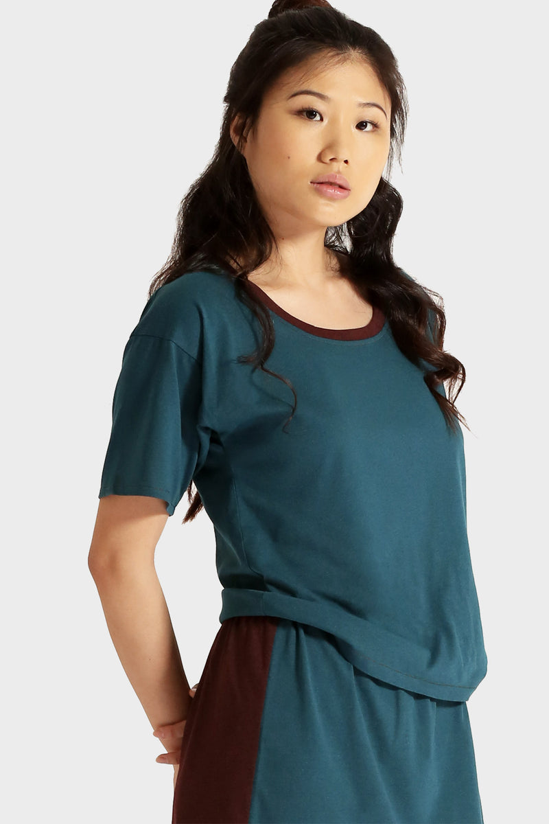 SADIE RECYCLED T-SHIRT - 337 BRAND Women's Sustainable Clothing
