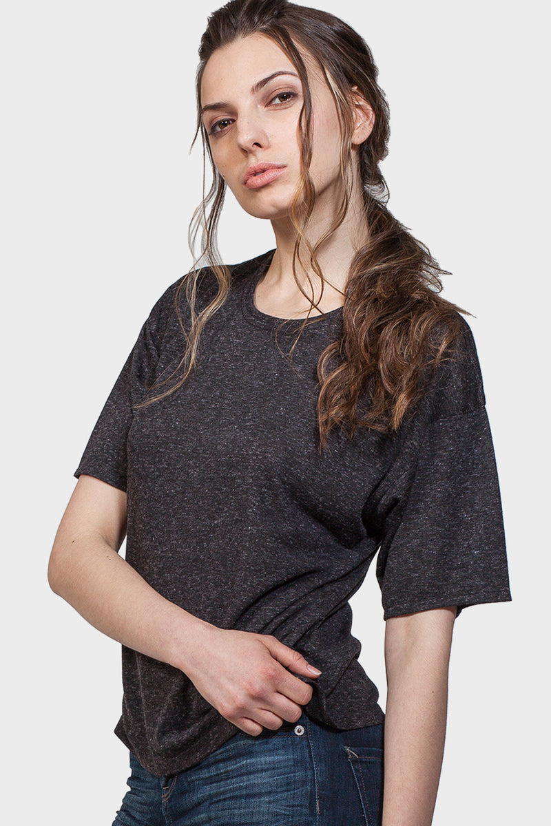 CREW NECK T-SHIRT - 337 BRAND Women's Sustainable Clothing