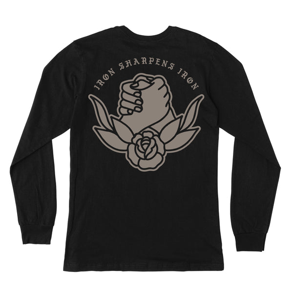 """Iron Sharpens Iron"" Long Sleeve Tee"