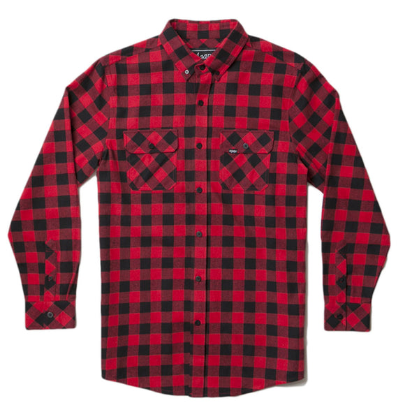 Black/Red Flannel