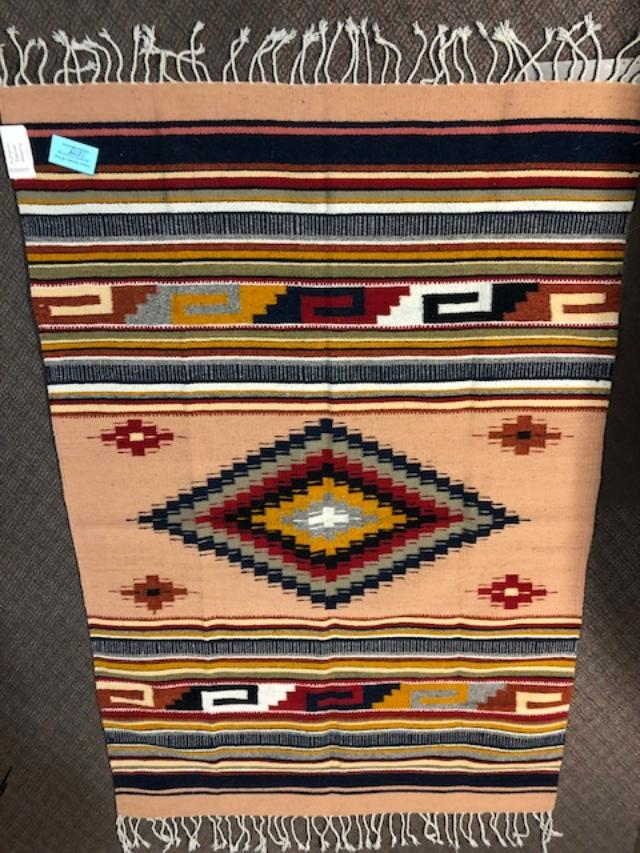 Zapotec Handwoven Wool Rug  1079