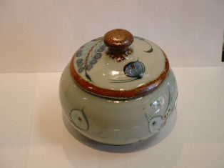 "Ken Edwards Sugar Bowl 4.25""x4.5"" (U4)"