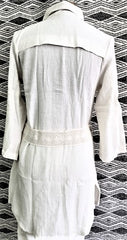 Natural Cotton jacket by Azteca Lindo 1133N  Use code save50 at checkout to save 50%  Made in Mexico, top quality.