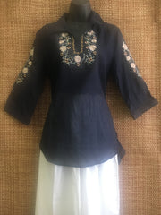 Gee Gee label blouse with embroidery