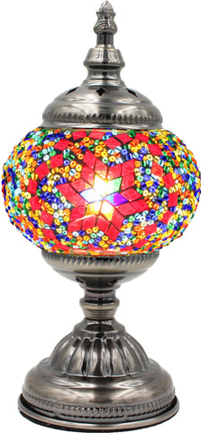 Mosaic glass lamp in straight up style 013