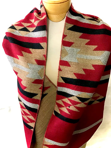 Infinity Scarf  Cardinal Red (GT.S50007)